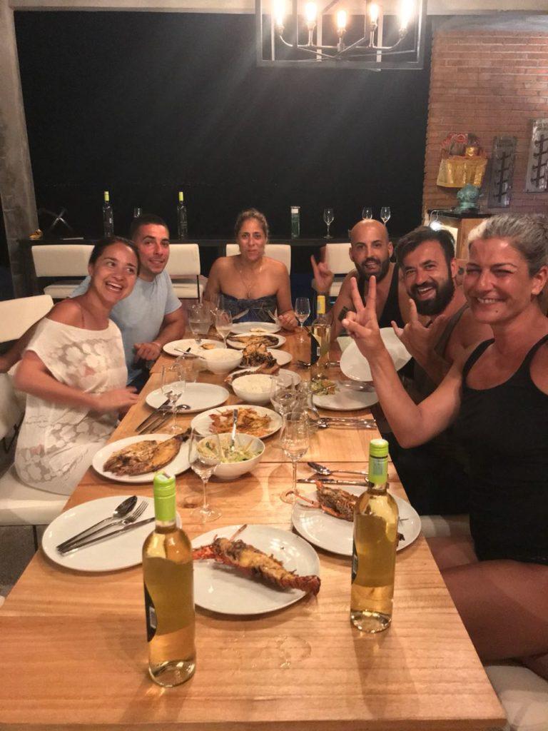 Diner restaurant Warnakali centre de plongée Nusa Penida