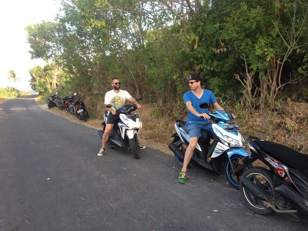 à faire à voir à Nusa Penida ballade en scooter