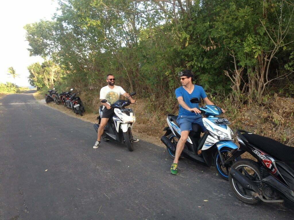 circuler à Nusa Penida ballade en scooter