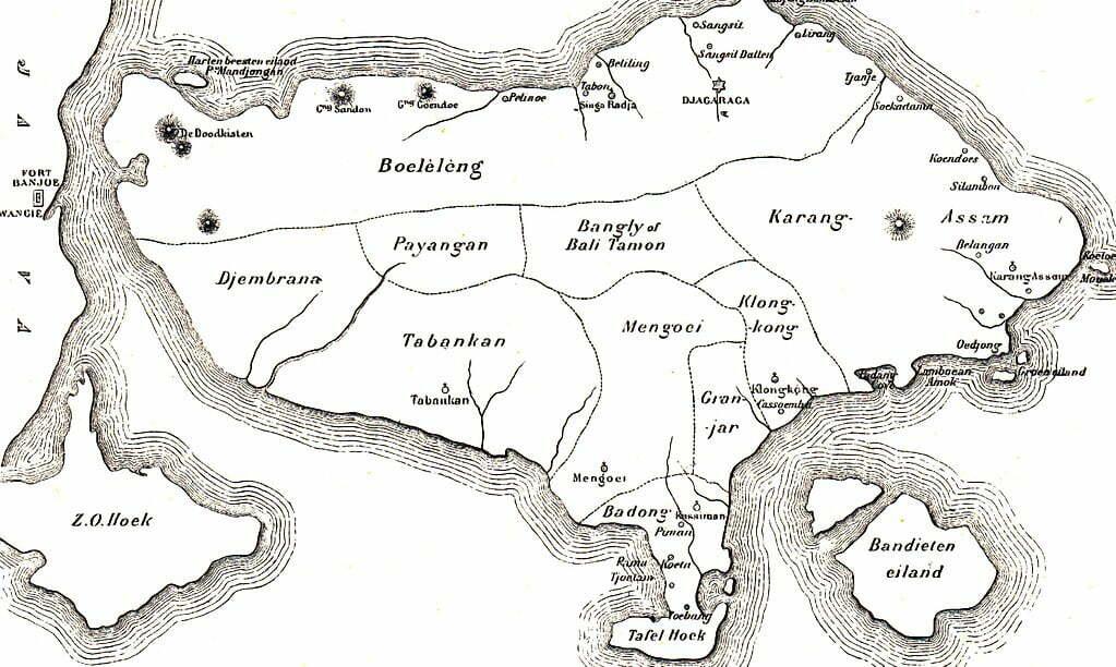 Histoire de Bali 9 royaumes
