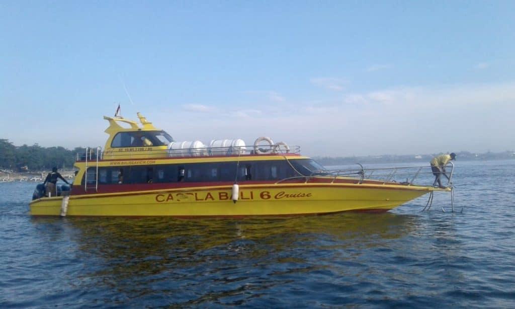 Fast boat Caspla Bali
