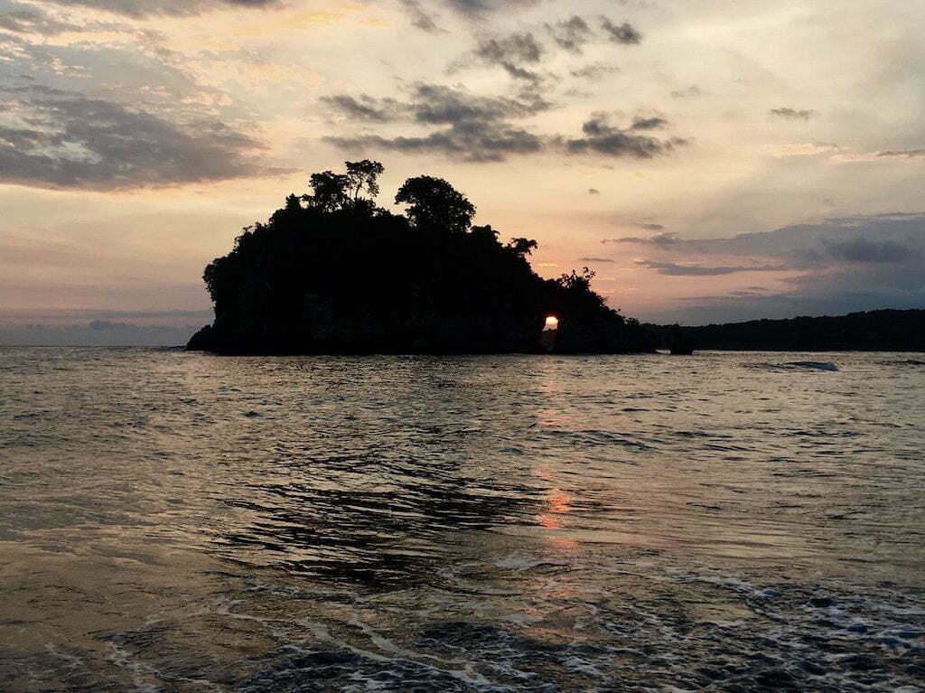 Crystal Bay Sunset Nusa Penida