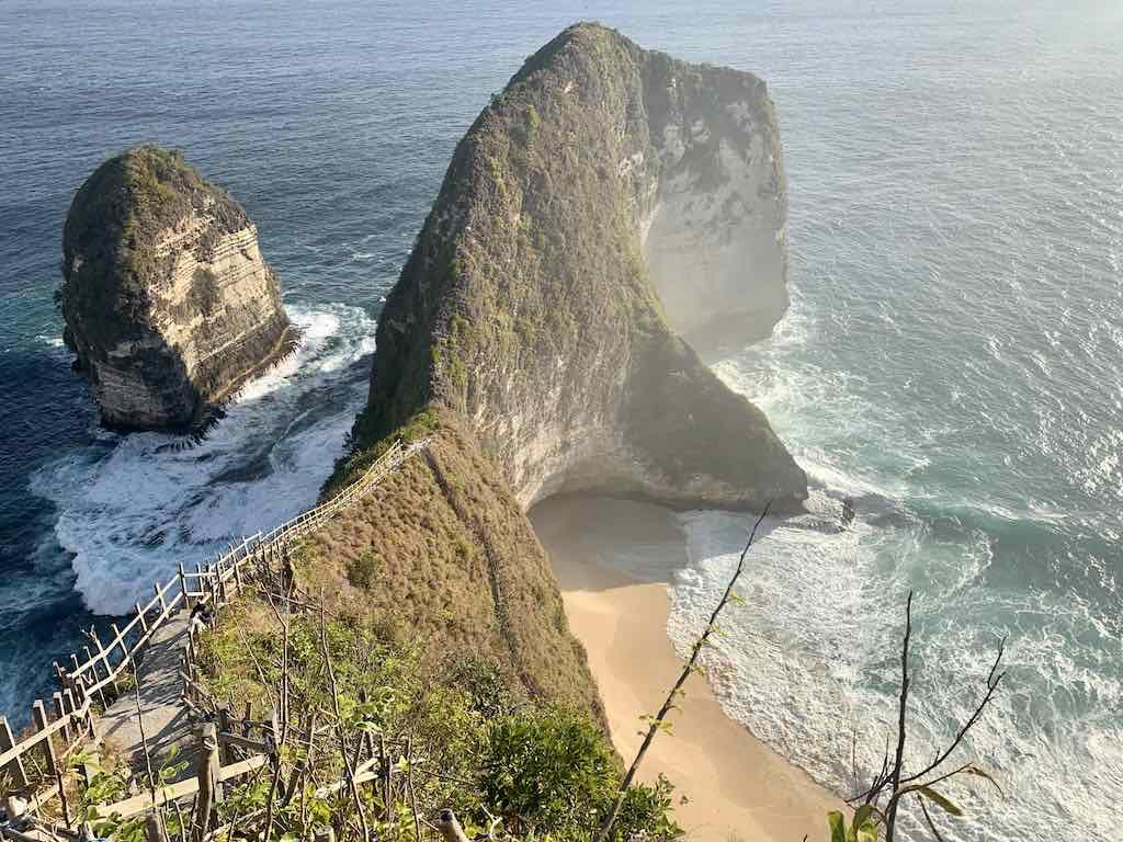 Escalier Kelingking Beach Nusa Penida Bali