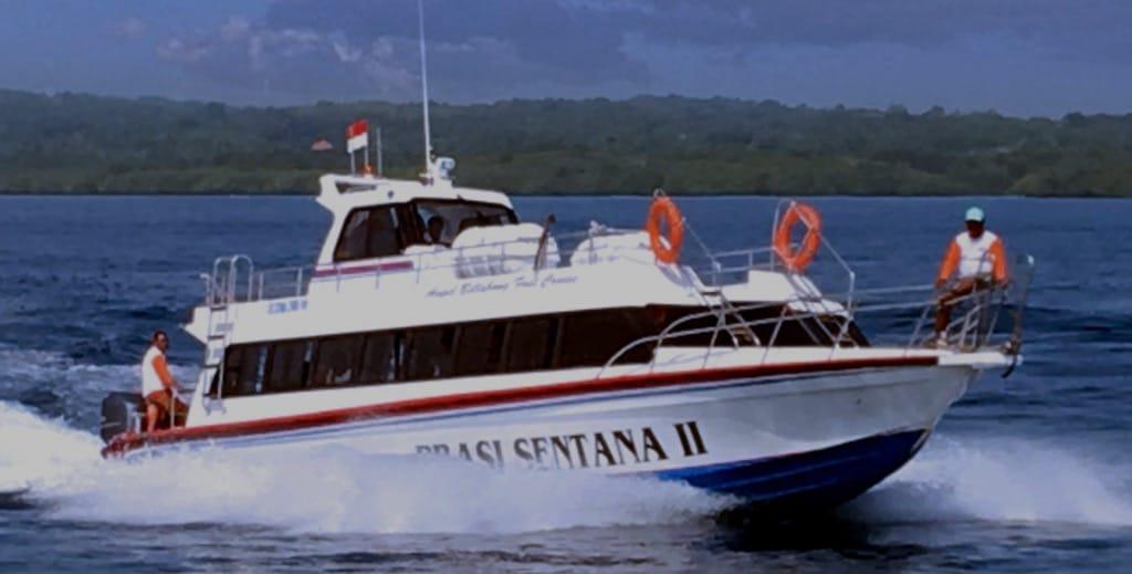 Fast boat pour aller à Nusa Penida depuis Bali