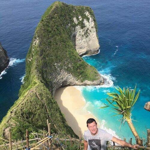 Kelingking Beach que voir à Nusa Penida Bali francophone