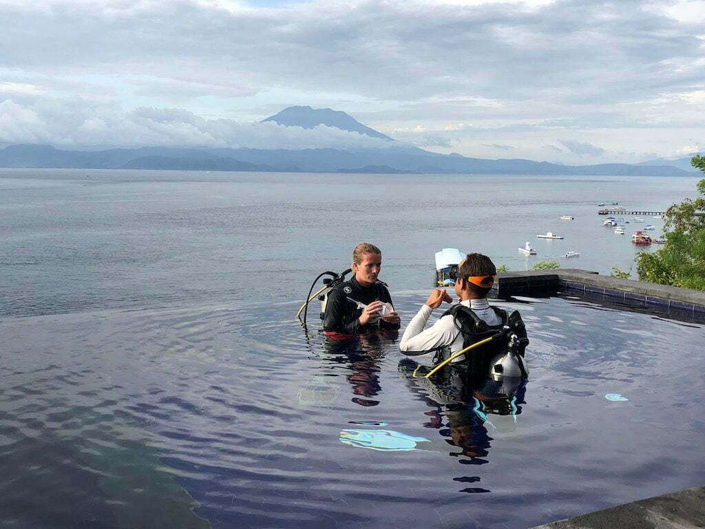 Warnakali bapteme de plongée Nusa Penoda