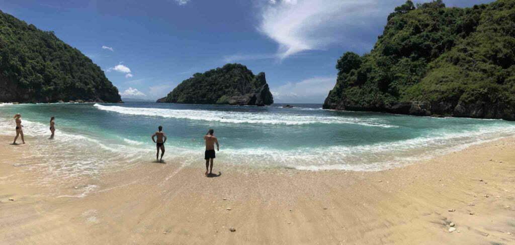 Plage Atuh Beach Nusa Penida Bali
