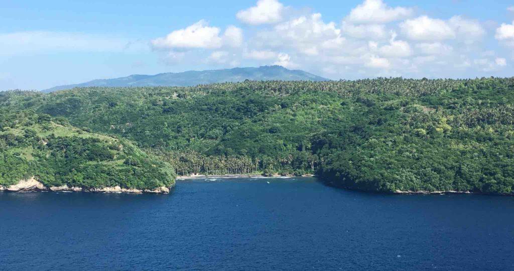 Gamat Bay depuis Ceningan Nusa Penida