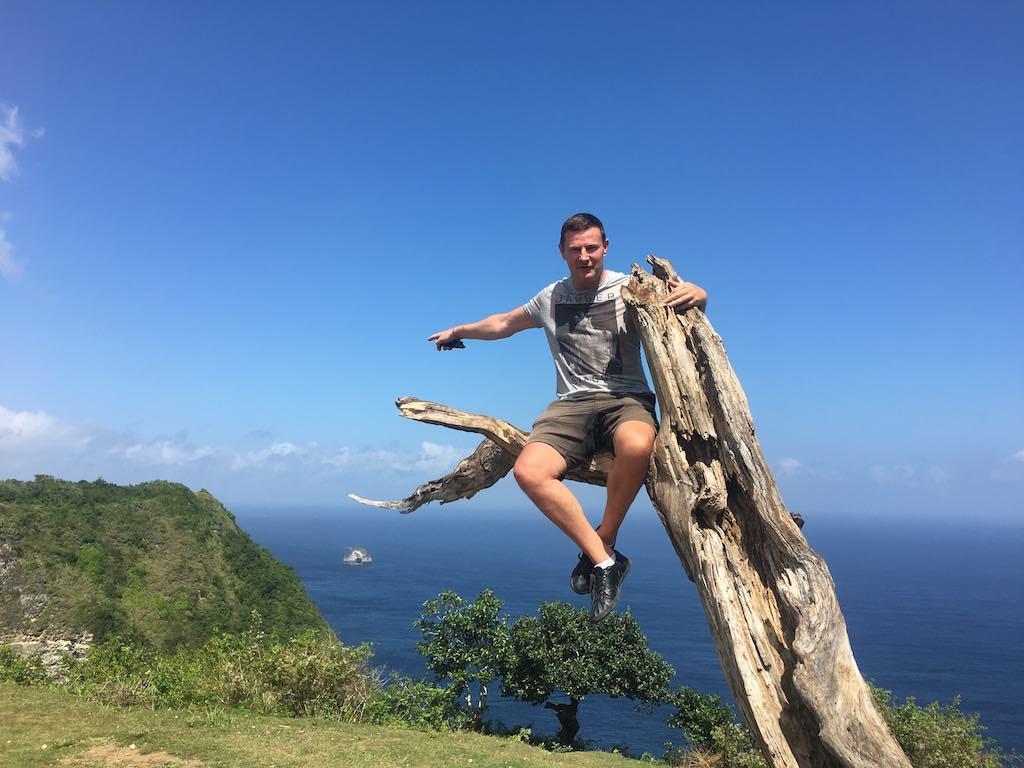 L'arbre de Kelingking Beach Nusa Penida Bali