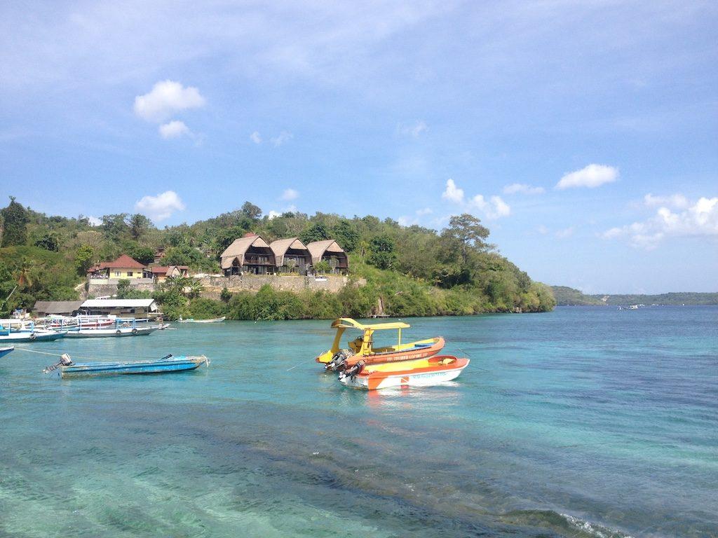 Toyapakeh port Nusa Penida Nusapenida