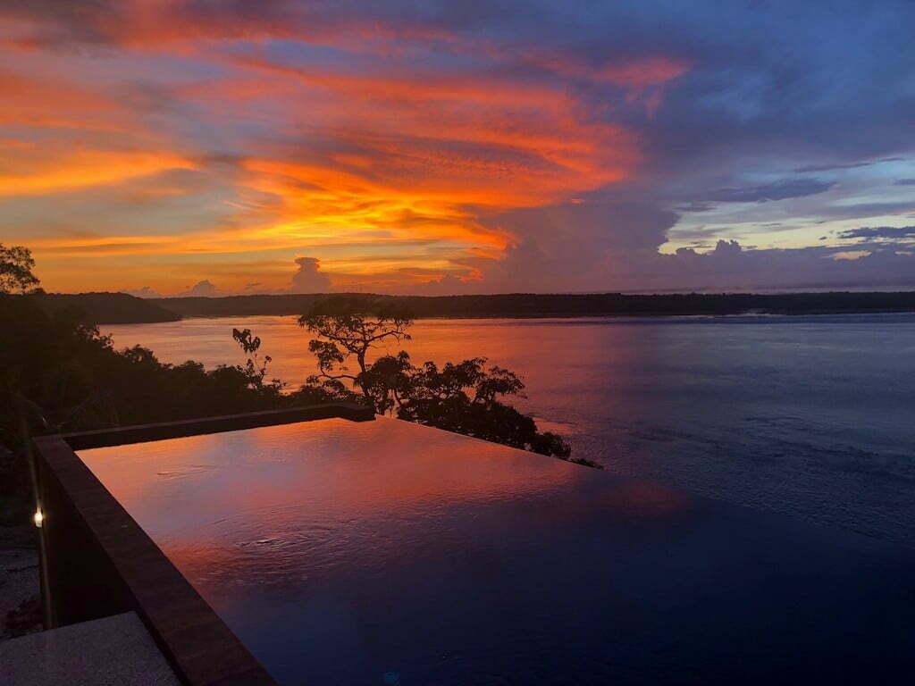 Piscine club de plonége warnakali sunset Nusa Penida