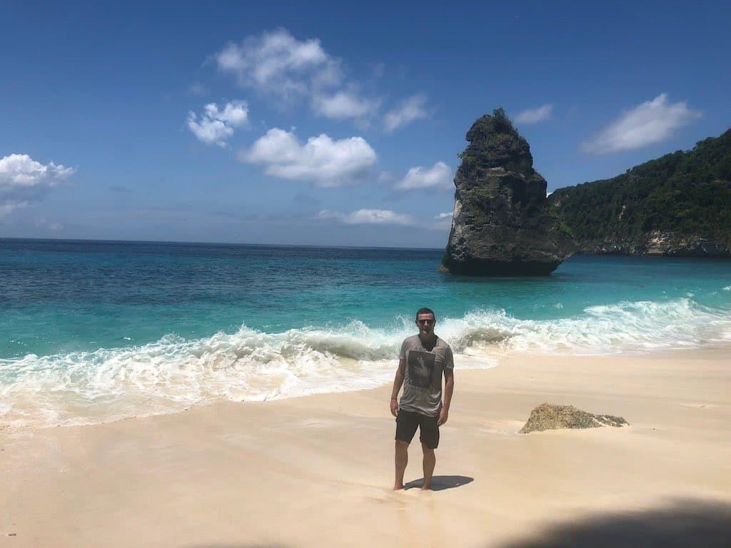 Plage Suwehan Beach Nusa Penida Bali