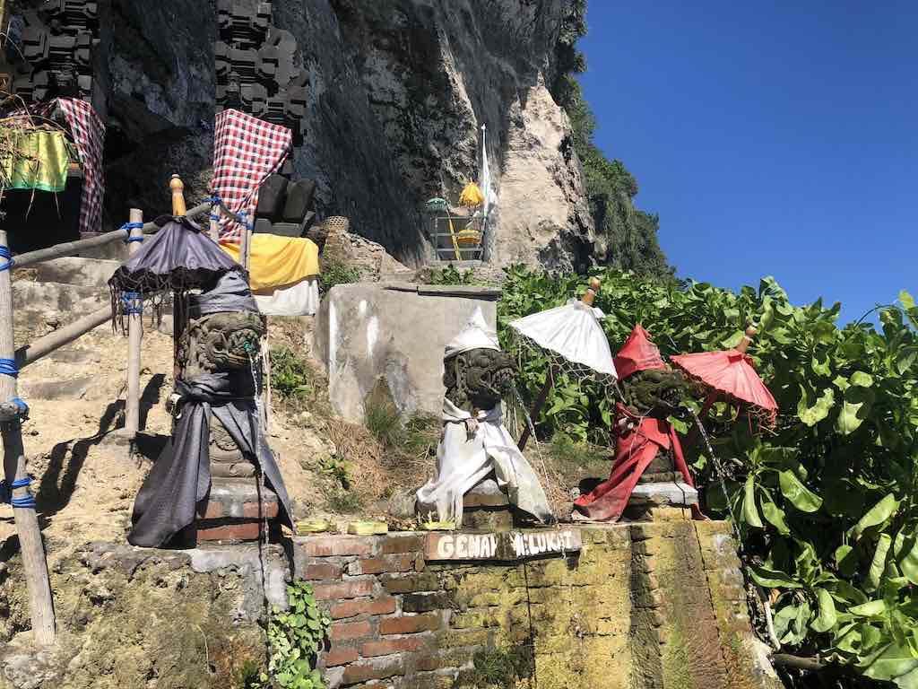 Guyangan temple Peguyangan Nusa Penida