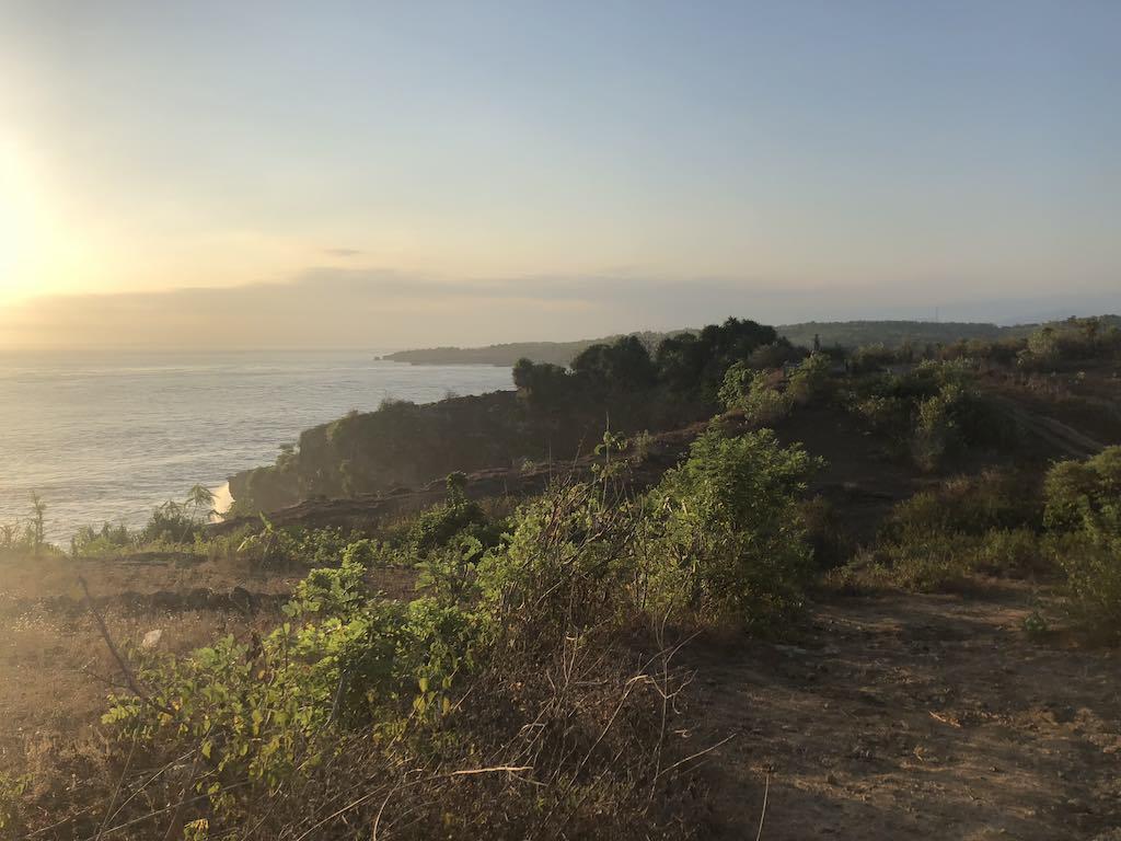 Coucher de soleil Nusa Penida Bali