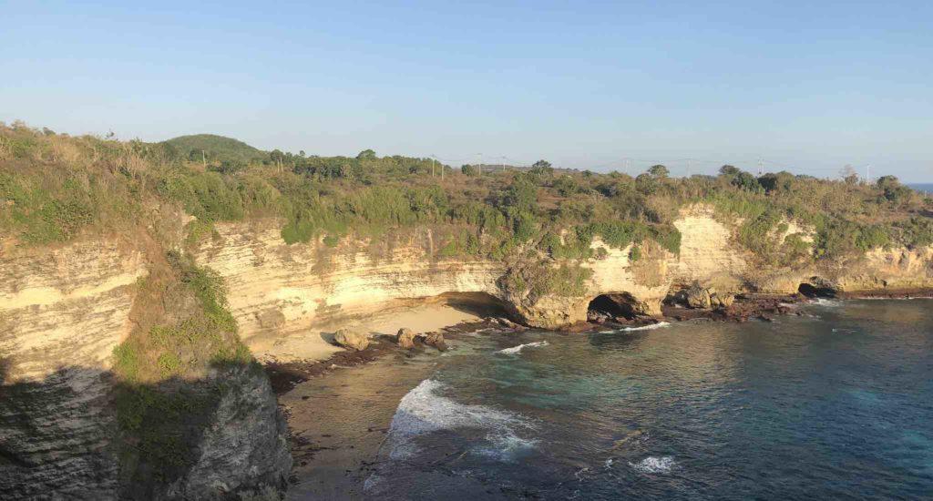 Crystal Bay à Broken Beach à pied Nusa Penida