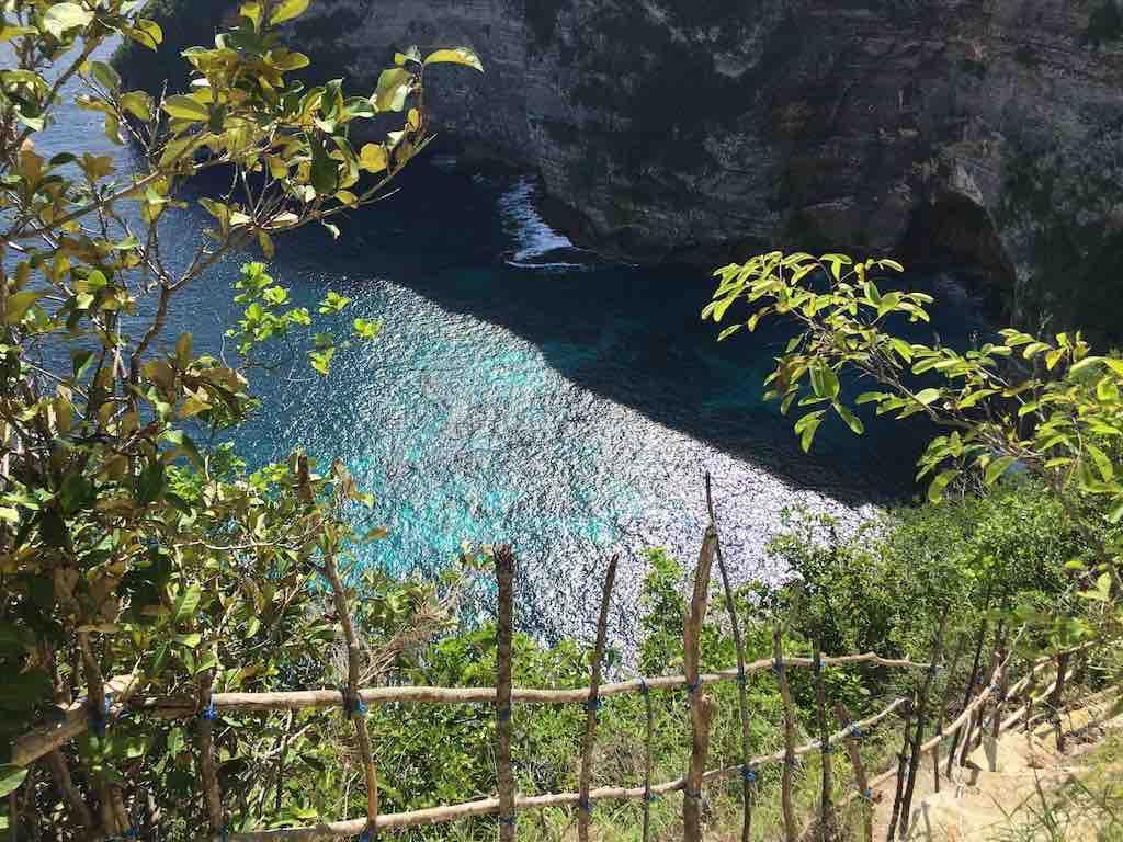 Descente Seganing Waterfall Nusa Penda Bali