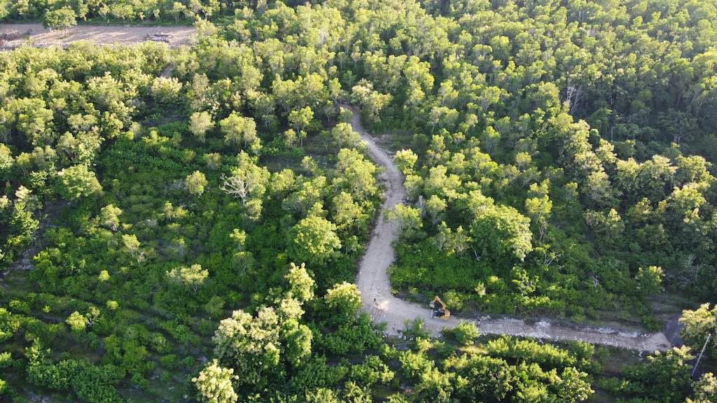 Suana land for sale tanah nusa penida access road