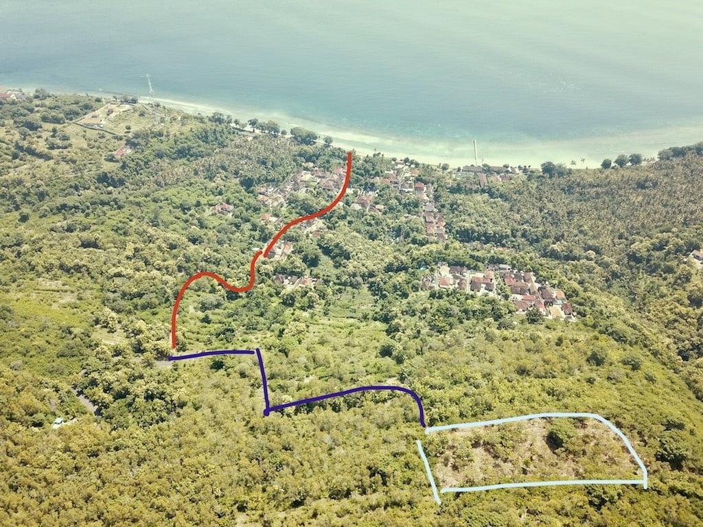Terrain a vendre à Suana Nusa Penida Bali